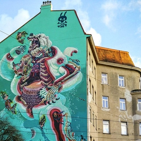 Guide to Vienna's Street Art