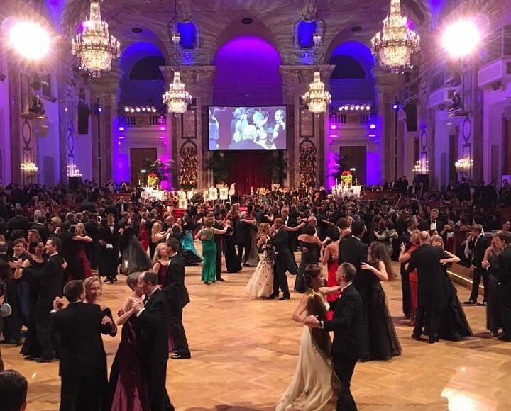 Have you ever heard of the Vienna Estate Ball - Wiener Immobilienball in Hofburg's Palace?